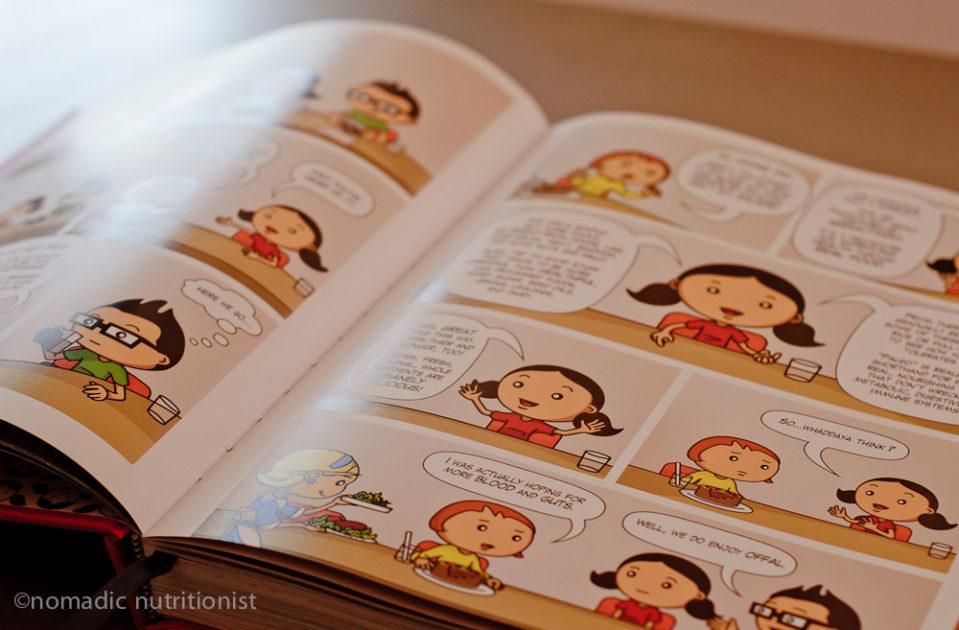 Nom Nom Paleo cookbook cartoons