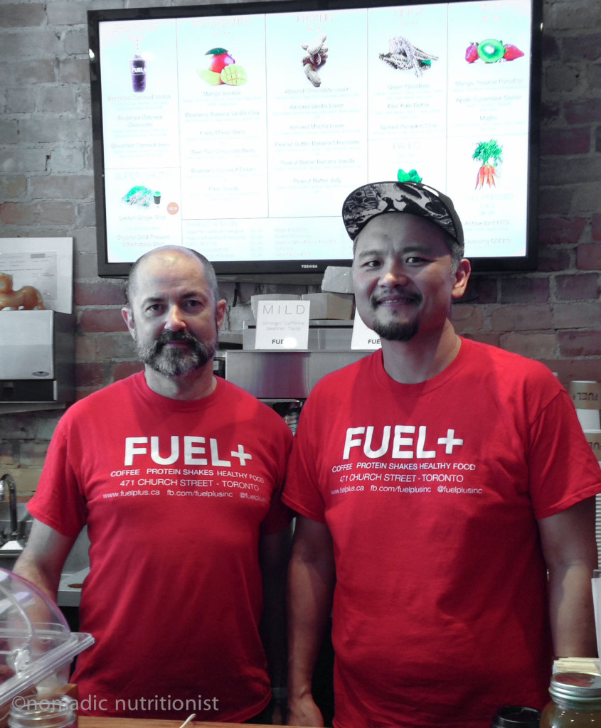 Gary & Chester, co-owners of Fuel+