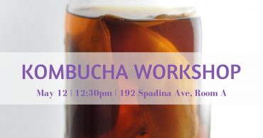 Kombucha Workshop - May 12, 2016