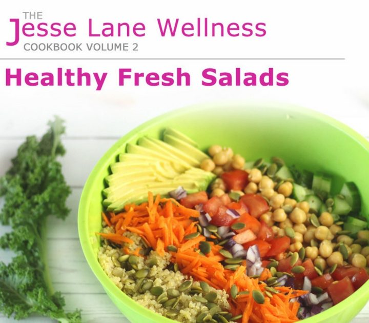 Healthy Fresh Salads book review