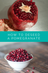 3 ways to deseed a pomegranate #pomegranate