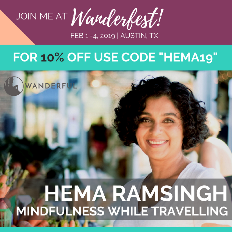 Wanderfest 2019, Mindfulness while travelling